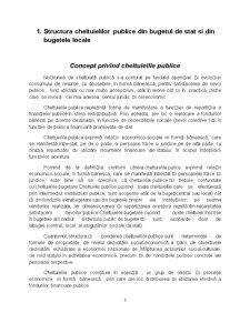 Analiza Structurii și Dinamicii Cheltuielilor Publice din Bugetul de Stat al României - Pagina 3