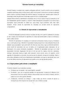 Sisteme Bazate pe Cunoștințe - Pagina 1
