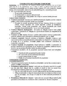 Contractul de vânzare-cumpărare - Pagina 1