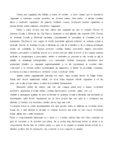 Cultura Organizationala in Cadrul Departamentului de Asistenta Sociala - Pagina 2