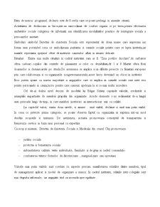 Cultura Organizationala in Cadrul Departamentului de Asistenta Sociala - Pagina 3