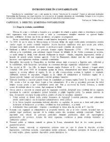 Introducere în Contabilitate - Pagina 1