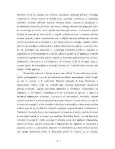 Fundamentarea si Finantarea Cheltuielilor Bugetare la o Institutie din Administratia Publica cu Referire la Primaria Comunei Tutova - Pagina 5