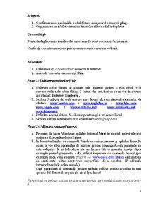 Investigarea Cailor de Acces Catre Acelasi Nod din 2 Puncte Diferite de Retea Internet - Pagina 1