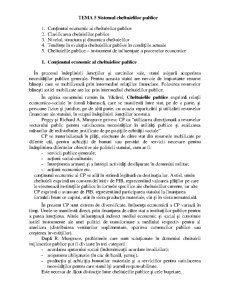 Sistemul Cheltuielilor Publice - Pagina 1