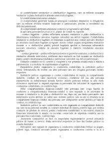Principii si Reguli ale Organizarii si Conducerii Contabilitatii in Institutiile Publice - Pagina 2