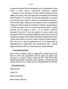 Radioizotopi Naturali - Poloniu - Pagina 3