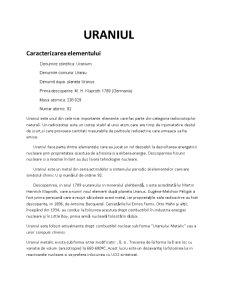 Radioizotopi Naturali - Uraniul - Pagina 3