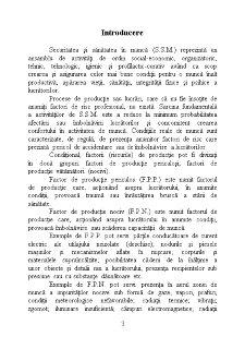 SSM Sanatatea si Secritatea in Munca - Pagina 1