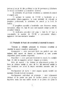SSM Sanatatea si Secritatea in Munca - Pagina 5