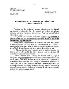 Bursa - Pagina 1