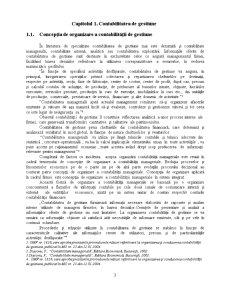 Studiu privind Organizarea Contabilitatii de Gestiune in Productie - Pagina 4