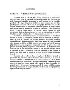 Recursul - Pagina 1