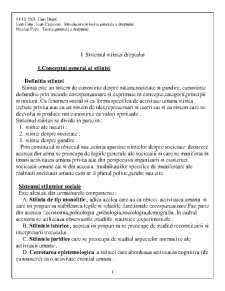 Introducerea in Teoria Generala a Dreptului - Pagina 1