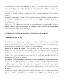 Regimul Organismelor Modificare Genetic - Pagina 2