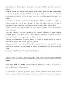 Regimul Organismelor Modificare Genetic - Pagina 4