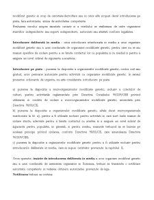 Regimul Organismelor Modificare Genetic - Pagina 5