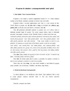 Program de Gestionare a Bazei de Date cu Pacientii unui Spital - Pagina 2