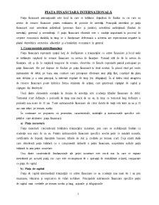 Piața Financiară Internațională - Pagina 1