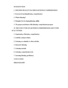 Teaching Listening - Pagina 1