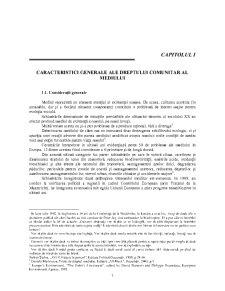 Dreptul Mediului - Pagina 1