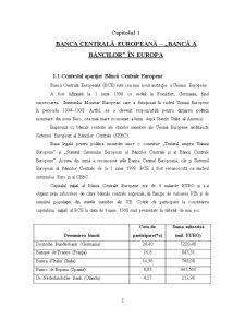 Banca Central Europeană și Sistemul European al Băncilor Centrale - Pagina 3