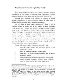 Contravenția - Pagina 1