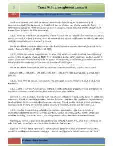 Supravegherea Bancară - Pagina 5