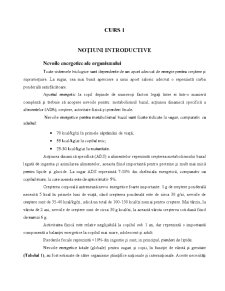 Nutritie si Dietetica - Pagina 1