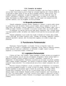 Organizarea si Functionarea Parlamentului Romaniei - Pagina 4