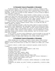 Organizarea si Functionarea Parlamentului Romaniei - Pagina 5