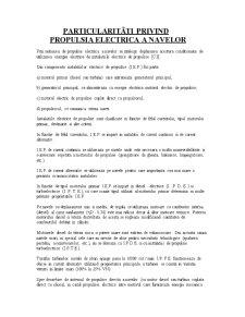 Particularitati Privind Propulsia Electrica a Navei - Pagina 2