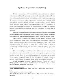 Egalitatea de Șanse între Femei și Bărbați - Pagina 2