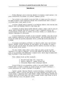 Dezvoltarea de Aplicatii Folosind Interfata Bluetooth - Pagina 4