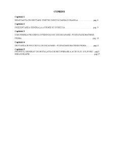 Inovarea în Procesul de Decapare Fosfatare - Pagina 1