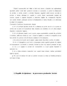Drepturile Consumatorului si Regulile de Igienizare in Domeniul Procesarii Laptelui - Pagina 4