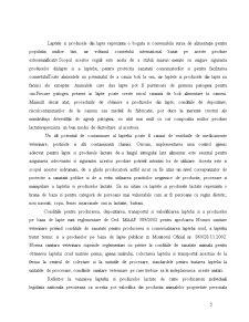 Drepturile Consumatorului si Regulile de Igienizare in Domeniul Procesarii Laptelui - Pagina 5