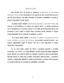 Contabilitatea și Fiscalitatea Impozitelor Directe la SC Con Invest SRL - Pagina 4