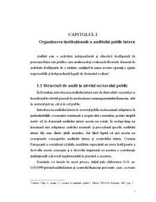 Auditul Public Intern la Colegiul Național Mihai Eminescu Buzău - Pagina 2