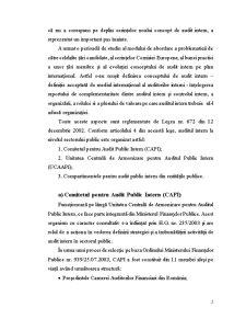 Auditul Public Intern la Colegiul Național Mihai Eminescu Buzău - Pagina 3