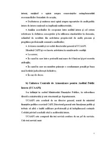 Auditul Public Intern la Colegiul Național Mihai Eminescu Buzău - Pagina 5