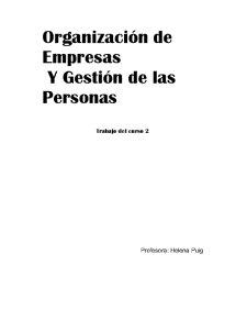 Legislatie Turistica si Firmele Turistice - Studiu de Caz Barcelona - Pagina 1