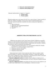 Arhitectura unui Sistem de Calcul - Pagina 2