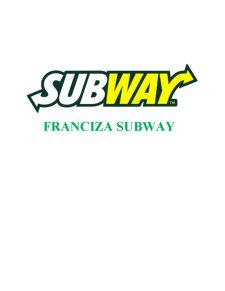 Franciza Subway - Pagina 1
