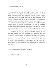 Evolutia Asigurarilor in Plan Mondial si in Romania - Pagina 2