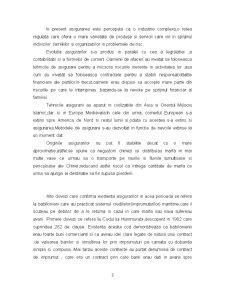 Evolutia Asigurarilor in Plan Mondial si in Romania - Pagina 3