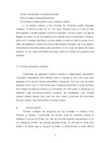 Evolutia Asigurarilor in Plan Mondial si in Romania - Pagina 5