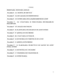 Misiune de Audit Intern - Auditul Intern al Salariilor - Pagina 2