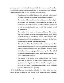 Naționalitatea Persoanei Juridice în Dreptul Internațional Privat - Pagina 4