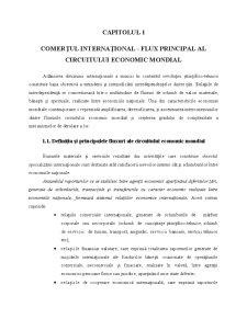 Comertul International - Capitolul 1 - Pagina 1
